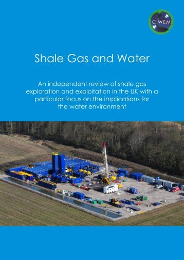 Shale Gas and Water WEB