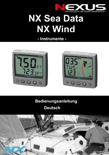 Bedienungsanleitung - Nexus Marine