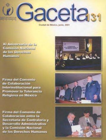 Recomendación 14/2001 - Comisión Nacional de los Derechos ...