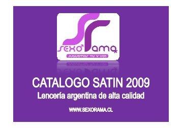 Catalogo Satin - Sexorama - Bligoo.com