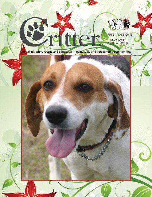 ALL PAGES MAY2013-E - Critter Magazine