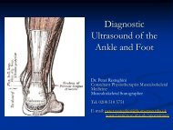 Diagnostic Ultrasound of the Ankle and Foot
