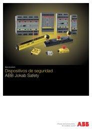 Dispositivos de seguridad ABB Jokab Safety