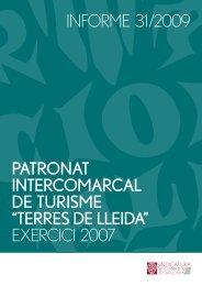 Informe 31/2009 - Generalitat de Catalunya