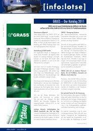 GRASS – Der Katalog 2011