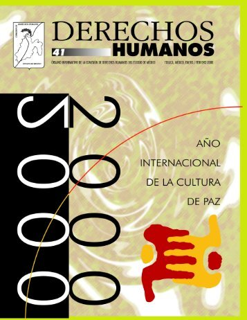 Año internacional de la cultura de paz - codhem