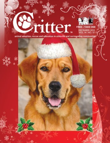 ALL PAGES-DECEMBER 2012 - Critter Magazine