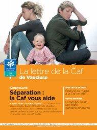 La lettre de la Caf - Caf.fr