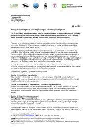 Samarbeidsrådet for biologisk mangfold - Vannportalen