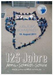 JUBILÄUMS- SOMMERFEST - Anna-Schmidt-Schule