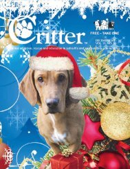 Critter Notes - Critter Magazine