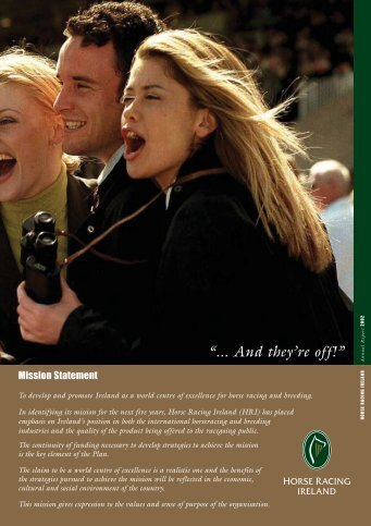 2002 Annual Report - Horse Racing Ireland