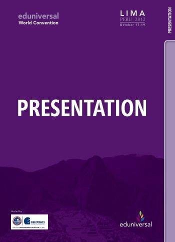 Participants brochure - Eduniversal World Convention