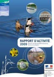 rapport d'activité - Voies navigables de France