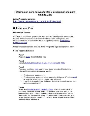 Solicitar una Visa - agenciaavanti.com
