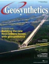 Geosynthetics - October/November 2011
