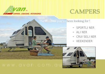 campers . caravans . motorhomes - Rvguidebook.com