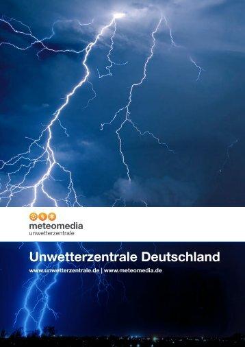 Unwetterzentrale Deutschland - Meteomedia AG