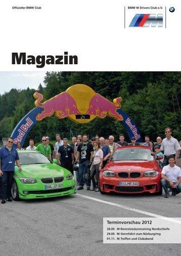 Magazin - BMW M Drivers Club eV