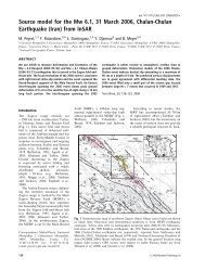 (Iran) from InSAR - GSINET   Geological Survey of Iran , North - East ...