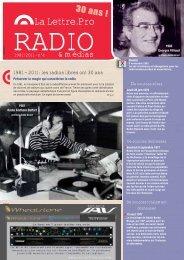 La Lettre.Pro - RFI-Planète Radio