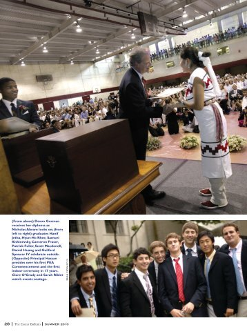 The Exeter Bulletin summer 2010 28 - Phillips Exeter Academy