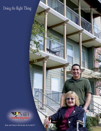 2006 Annual Report - San Antonio Housing Authority