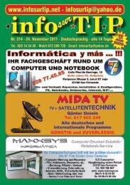 Info Sur Tip ( Ausgabe:314 ) - Kanarenmarkt