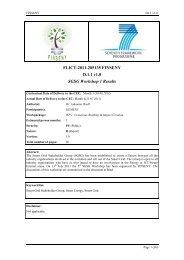 FI.ICT-2011-285135 FINSENY D.1.1 v1.0 SGSG Workshop 1 Results