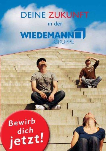 Ausbildung bei der WIEDEMANN-Gruppe