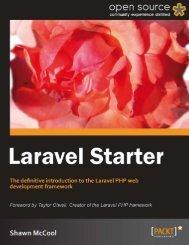Laravel Starter - PHP User Group (Myanmar)