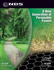 Permeable Pavers Brochure - NDS