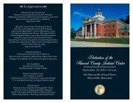 Hancock County Judicial Center Dedication - Kentucky Court of ...
