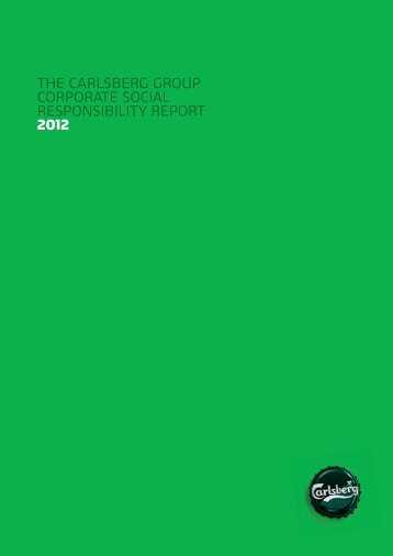 Carlsberg Group CSR Report 2012