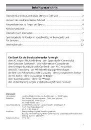 Inhaltsverzeichnis - im Landkreis Märkisch-Oderland