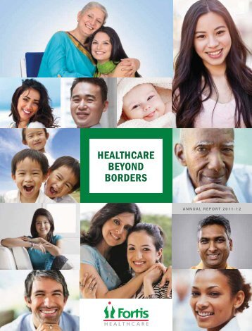 16th Annual Report - Fortis Healthcare