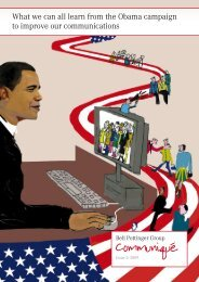 What We Can All Learn From The Obama Campaign To Improve Our
