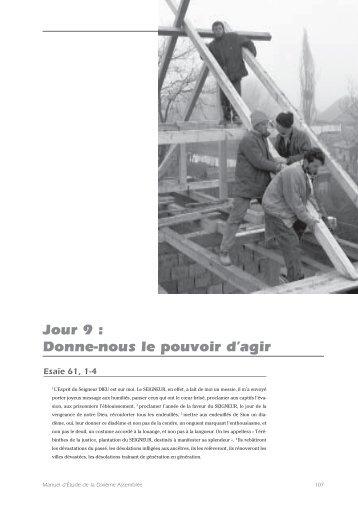 Donne-nous le pouvoir d'agir - LWF Tenth Assembly 2003