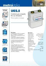 Contatori Membrana G2.5 - Watergas
