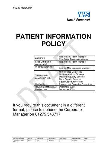 patient's dignity. Docu