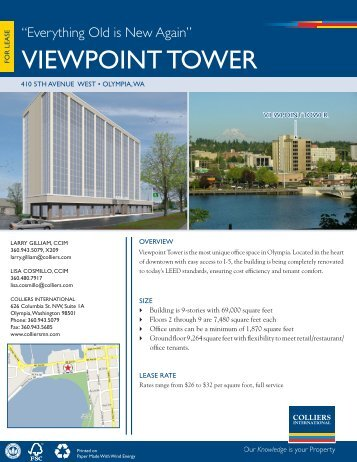 vieWpOint tOWeR