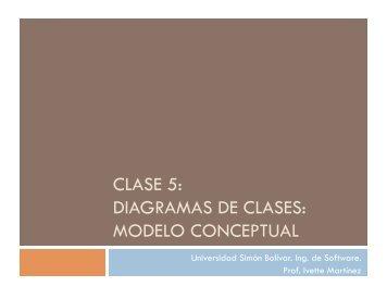CLASE 5: DIAGRAMAS DE CLASES: MODELO ... - ITESCAM
