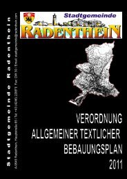 Stadtgemeinde Radenthein - verdichter.at