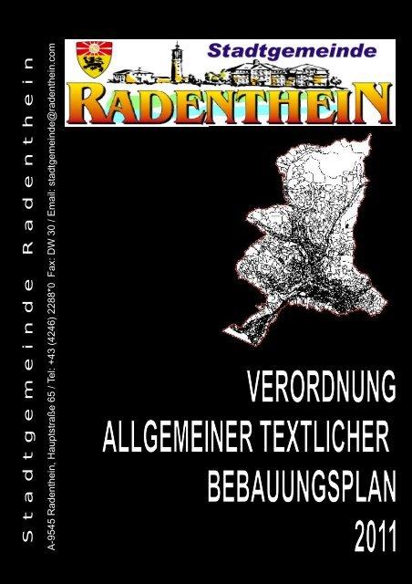Stadtgemeinde Radenthein - verdichter.at