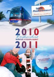 Winter / Steden / KerSt - Maaskant Reizen