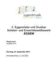 2. Eggersrieter und Grueber Solisten- und Ensemblewettbewerb ...