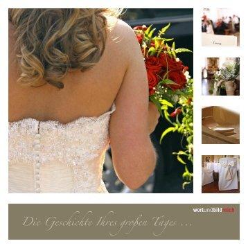 Hochzeit Flyer (pdf) - Verena Schneider - wortundbildreich