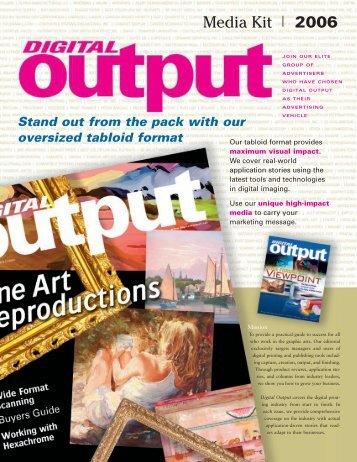 MediaKit final - Digital Output Magazine