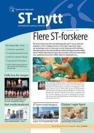 ST-nytt nr.21, 2010 - Sykehuset Telemark