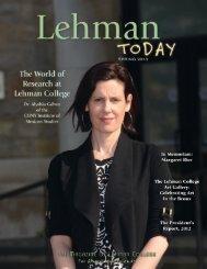 Lehman Today Magazine, Spring 2013 - Lehman College
